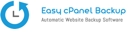 Easy cPanel Backup